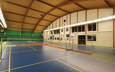 Badminton ve STEPU za pouhých 120 Kč! Platnost až do 30.9.2017