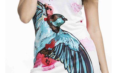 Culito from Spain barevné šaty Golondrina - XXL