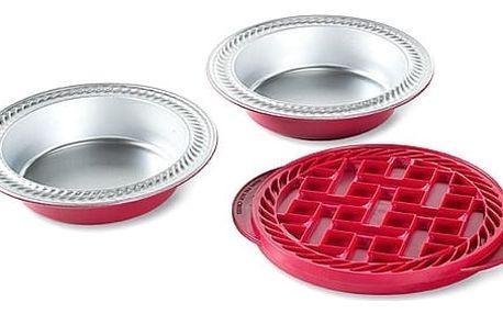 Forma na dva mřížkované mini koláče Nordic Ware