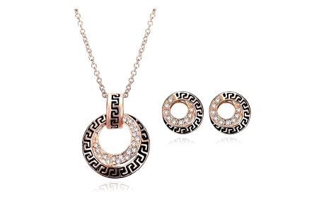 Sada šperků v kruhovém provedení