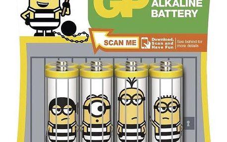 Baterie GP Mimoni, AA, 6 + 2 ks