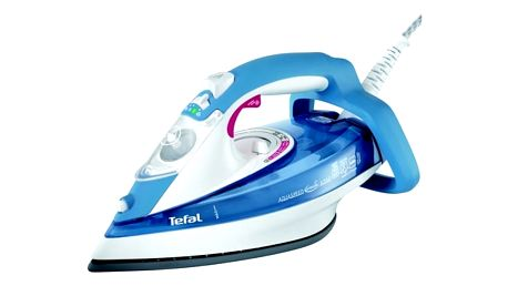 Žehlička Tefal Aquaspeed FV5350 bílá/modrá