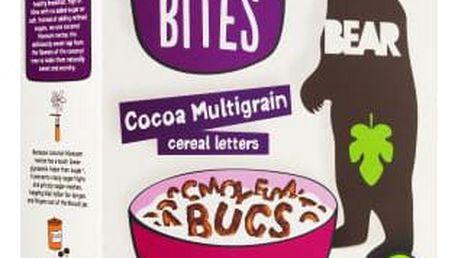 BEAR Písmenkové cereálie Bites, kakao 374 g