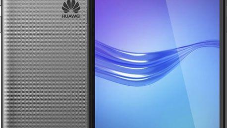 Huawei Y6 2017, Dual Sim, šedá - SP-Y617DSTOM