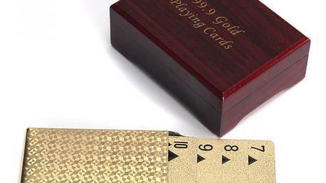 Hrací karty v luxusní krabičce