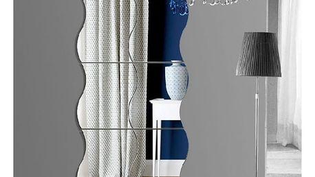 Samolepka na zeď - interiérové skládané zrcadlo