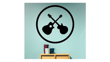 Samolepka na zeď - Kytary