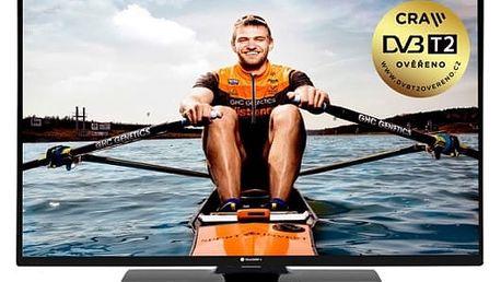 Televize GoGEN TVH 32N384 STWEB černá