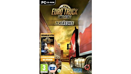 Euro Truck Simulator 2 Gold - PC - PC - CGD3289
