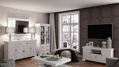 Rustikální obývací pokoj Kora
