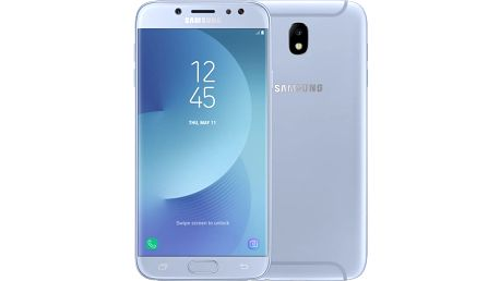Samsung Galaxy J7 2017, Dual Sim, LTE, stříbrná - SM-J730FZSDETL