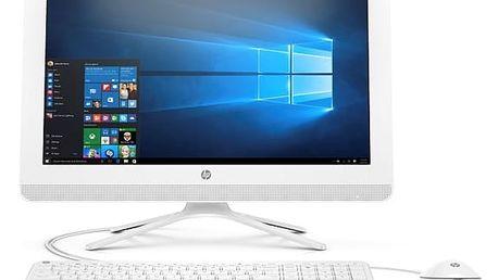 Počítač All In One HP 22-b031nc AiO 22' (Y0Y63EA#BCM) bílý + DOPRAVA ZDARMA