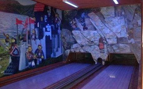 1 nebo 2 hodiny bowlingu až pro 10 osob již od 9 Kč/osoba s možností volby využití voucheru