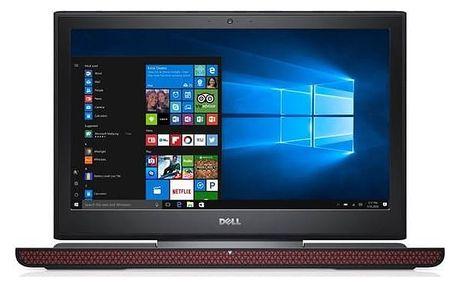 Notebook Dell Inspiron 15 Gaming 7000 (7566) (N-7566-N2-511K) černý Software F-Secure SAFE 6 měsíců pro 3 zařízení (zdarma)Monitorovací software Pinya Guard - licence na 6 měsíců (zdarma) + Doprava zdarma