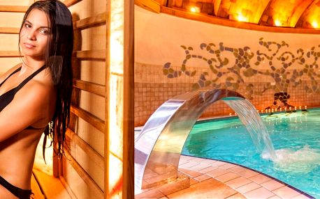 Hotel Piroska**** v lázních Bükfürdö s polopenzí, neomezeným wellness a dítětem do 5 let zdarma