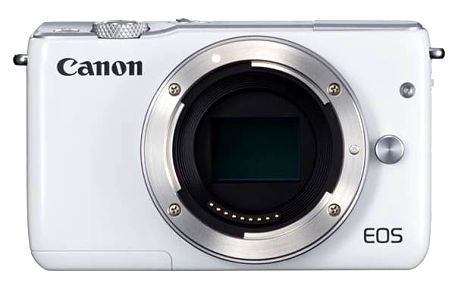 Digitální fotoaparát Canon EOS M10 tělo bílý Paměťová karta Kingston SDXC 64GB UHS-I U3 (90R/80W) (zdarma) + Doprava zdarma