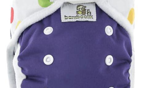 BAMBOOLIK Svrchní kalhotky, fialová+balónky