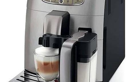 Espresso Saeco Intelia Deluxe HD8906/01 černé/stříbrné + Doprava zdarma