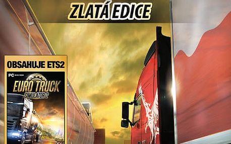 Euro Truck Simulator 2 Gold - PC - PC - CGD3289