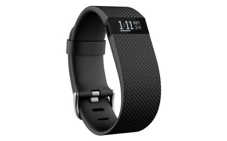 Fitness náramek Fitbit Charge HR (Small) (FB405BKS-EU) černá