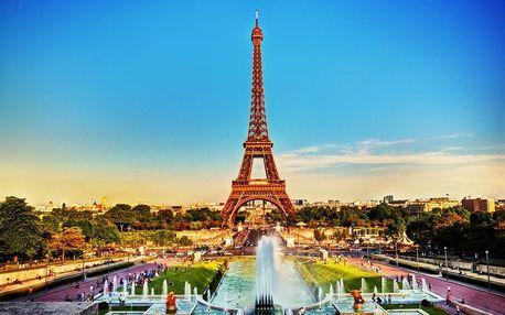 Silvestr v Paříži 2017 VŠE V CENĚ průvodce, ubytování v hote..., Île-de-France, Francie, autobusem, snídaně v ceně