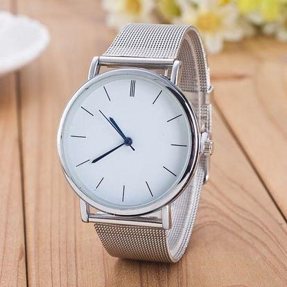 Dámské hodinky s velkým ciferníkem - 2 barvy