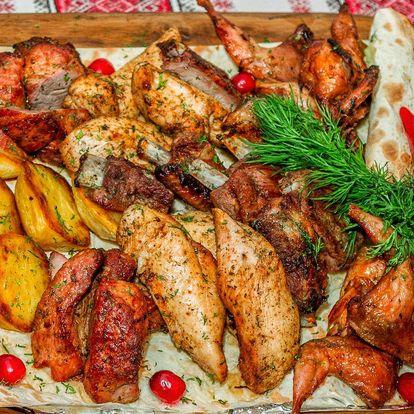 Restaurace Ztráty & nálezy - Mix grilovaného masa pro 2 nebo pro 4
