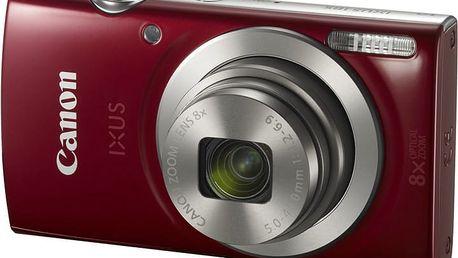 Canon IXUS 185, červená - 1809C001