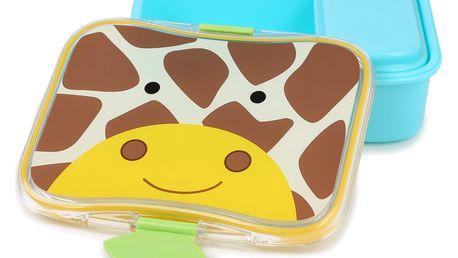 SKIP HOP Zoo Krabička na svačinu 4-dílná - Žirafa