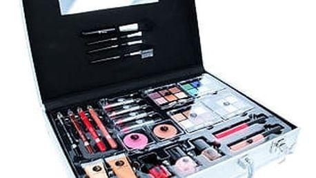 2K Beauty Unlimited Train Case dekorativní kazeta dárková sada W - Complete Makeup Palette