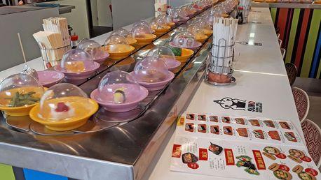 Až 28% sleva na Running Sushi - All You Can Eat v OC Novodvorská Plaza