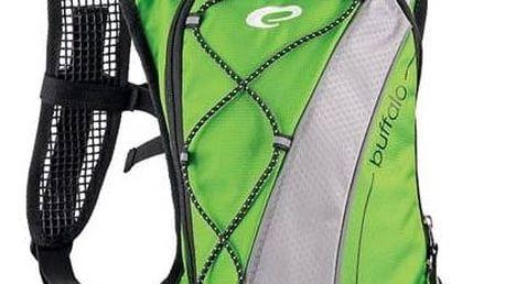 Batoh sportovní Spokey Buffalo zelený + Taška přes rameno Coleman ZOOM - (1L, černá), 12 x 15 x 8,5 cm, 160 g, vhodná na doklady, mobil, klíče v hodnotě 293 Kč