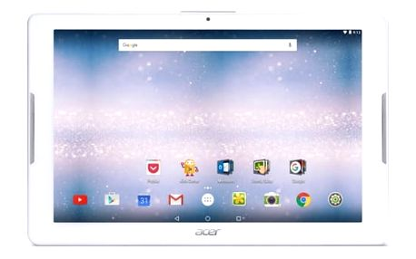"Acer Dotykový tablet Iconia One 10 (B3-A30-K72N) 10.1"", 16 GB, WF, BT, GPS, Android 6.0 - bílý"