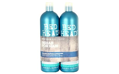 Tigi Bed Head Recovery šampon dárková sada W - šampon 750 ml + kondicionér 750 ml