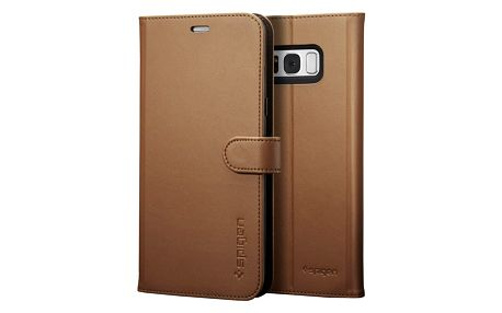 Spigen Wallet S pro Samsung Galaxy S8+, brown - 571CS21688