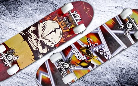 Skateboard pro začínající jezdce