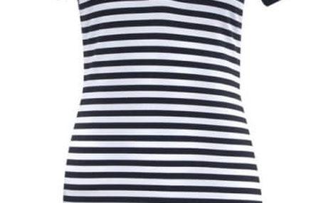 Sportovní mini šaty s krátkým rukávem - 4 velikosti