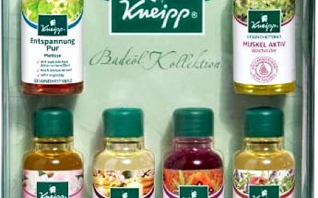Kneipp Dárková sada olejů do koupele 6 x 20 ml
