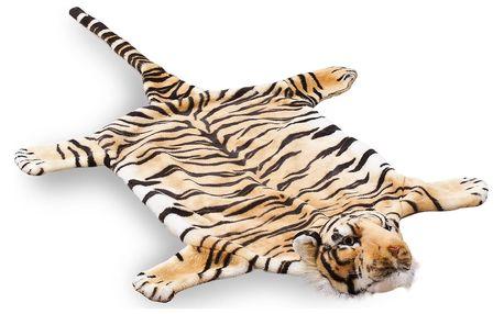 Vopi dětský koberec Tygr hnědý, 50 x 85 cm