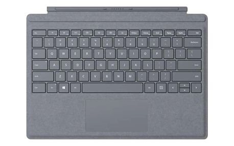 Microsoft Surface Pro 4 Type Cover, platinum - FFP-00013