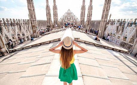 Víkendový zájezd za památkami a nákupy pro 1 osobu do italského Milána