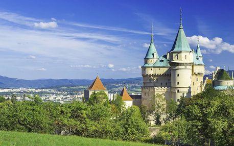 Letní dovolená ve dvou u Bojnického zámku v penzionu Benedikti s vysokou úrovní ubytování