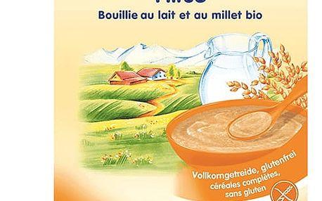 3x HOLLE Bio Jahelná mléčná kaše, 250 g