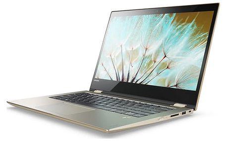 Lenovo Yoga 520-14IKB, zlatá - 80X80039CK