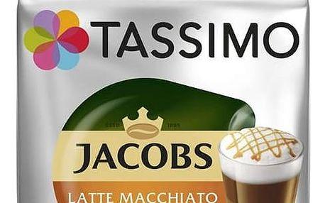 Kapsle pro espressa Tassimo Jacobs Krönung Latte Macchiato Caramel 268g 3x