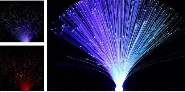 LED osvětlení z optických vláken