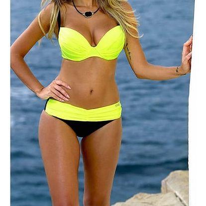 Dámské bikini v atraktivních barevných kombinacích - varianta 19, velikost č. 3