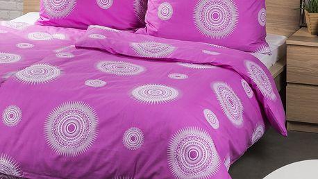 4Home 2 sady povlečení Tango růžová, 140 x 200 cm, 70 x 90 cm