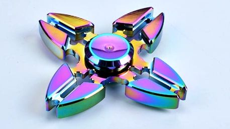 Duhový fidget spinner