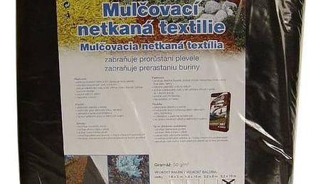 Mulčovací textilie Agro 3,2 x 10 m, mulčovací netkaná černá